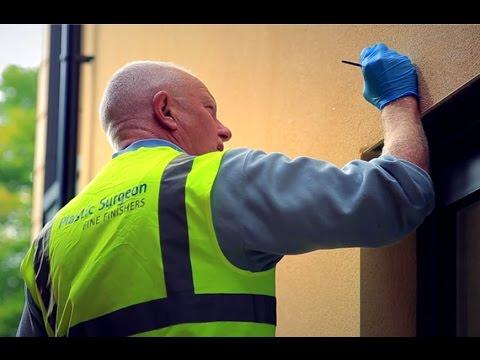 Render repair system by UK specialist, Plastic Surgeon.