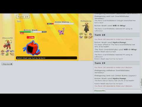 Pokemon Showdown Battle Series [OU] - Battle #8
