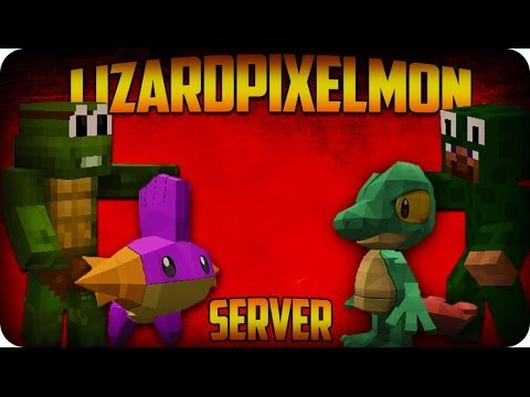 Pixelmon Server! Minecraft Pokemon - Lizard Pixelmon Server Ep 1 - SHINY STARTERS!
