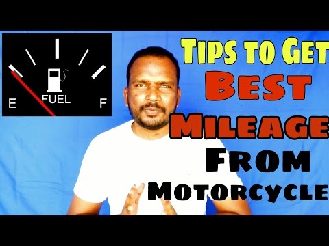 how YOU Can get maximum mileage from bike. [Hindi]