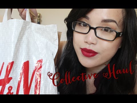 Collective Haul (Superdrug, H&M, River Island, Amazon)