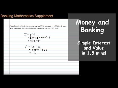 Simple Interest Calculation