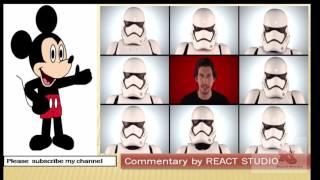 """Jimmy Fallon, The Roots & """"Star Wars: The Force Awakens"""" Cast Sing """"Star Wars"""" ; REACT STUDIO"""