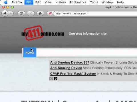Apple MAC OS X - How to save a web page as a PDF - TUTORIAL