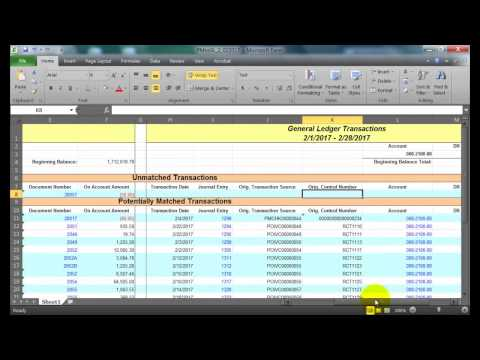 Microsoft Dynamics GP - How to Reconcile to the General Ledger