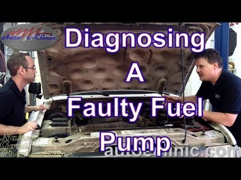 How to Diagnose a Bad Fuel Pump - No Pressure - Ford Ranger