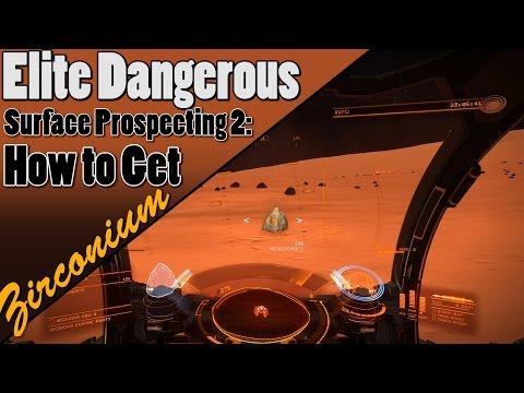 Elite Dangerous - How to Get Zirconium