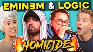 Adults React To Logic - Homicide Ft. Eminem
