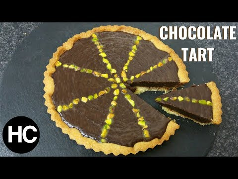 Delicious Chocolate Tart Recipe - How to make Chocolate Tart - Halal Chef
