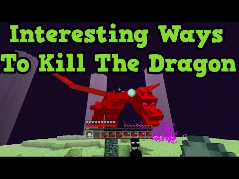 Minecraft Xbox One + PS4: Weird Ways To Kill the Enderdragon