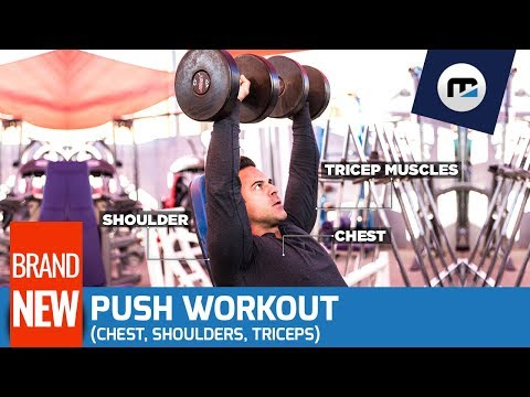 [BRAND NEW] 💪 Push Workout (Chest, Shoulders, Triceps) 🔥