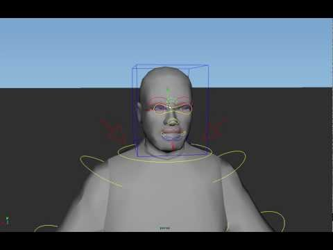 GTA IV Character Animation Rig for Maya V1.0 - H1Vltg3