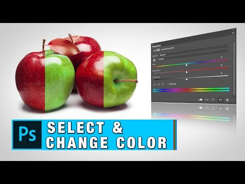 How To Change Color of Any Selected Object In Photoshop | Select And Replace Color