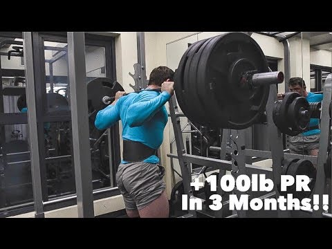 HOW TO INCREASE YOUR SQUAT BY 100LBS IN 3 MONTHS