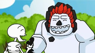 Clash Royale Animation #30: THREE SKELETONS (Parody)