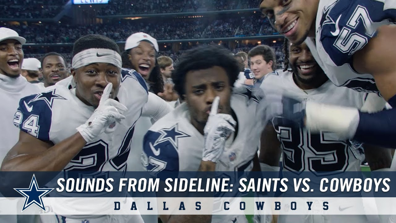 Sounds From The Sideline: Week 13 Saints vs. Cowboys   Dallas Cowboys 2018