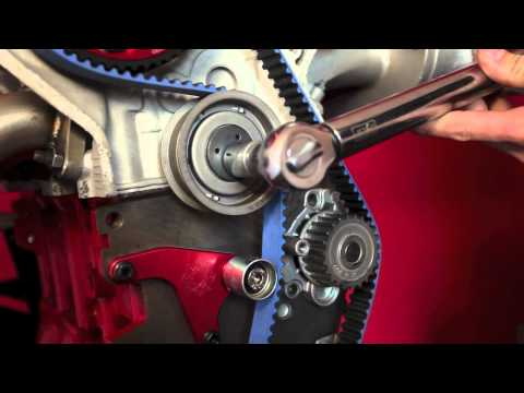 Integrated Engineering How to properly tension a 1.8T manual timing belt tensioner kit