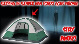 Download 24 HOUR CHALLENGE IN SLENDERMAN FOREST - WE STAYED THE NIGHT Video