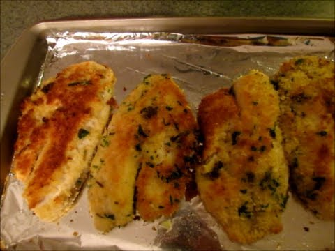 Herb and Panko Encrusted Tilapia Recipe (with gluten free option)