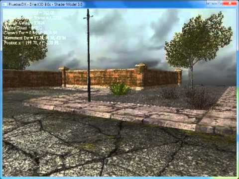 Learning and testing DirectX 9.0c for a FPS-like game application