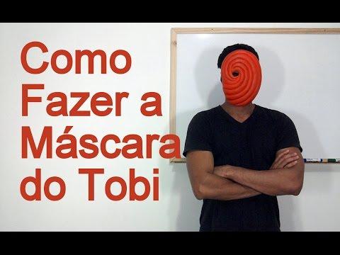 Como Fazer a Máscara do Tobi para o seu Cosplay - Dicas de Cosmaker