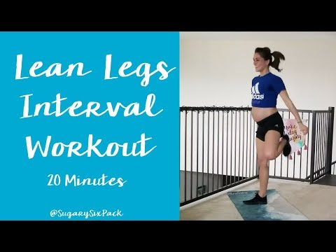 Lean Leg HIIT Workout | Home Cardio Intervals