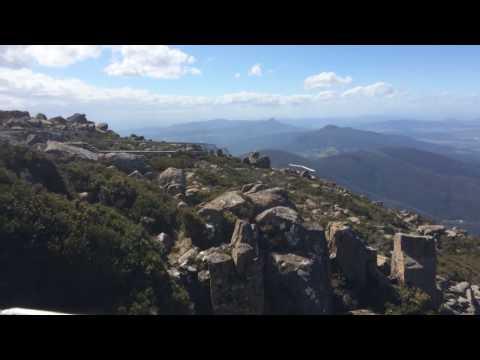 Tasmania - the summit of Mount Wellington