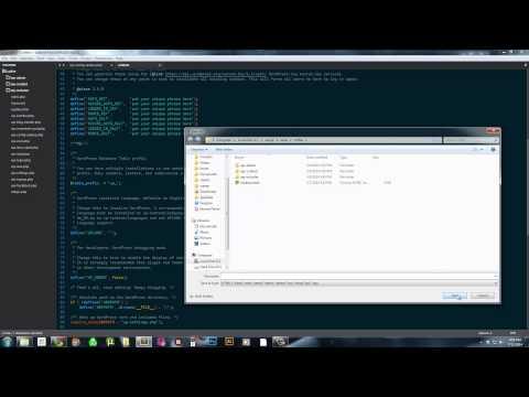 How to install Wordpress on Wamp Server on Windows 7 Locally