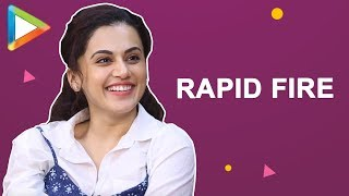 """ I am looking forward to seeing ZERO"": Taapsee Pannu 