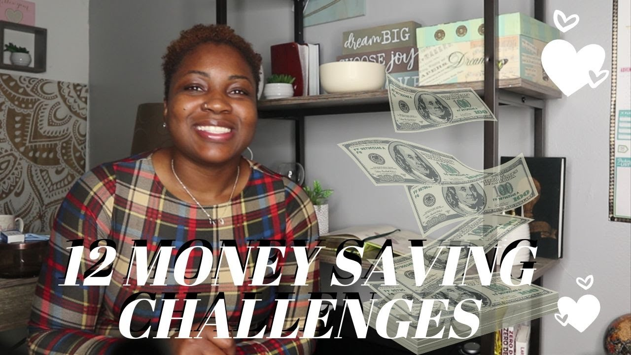12 Money Saving Challenges For the New Year