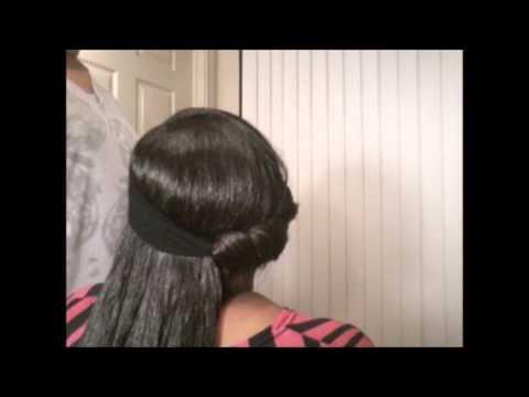 #05 Heatless Headband Curls