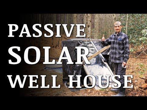 Hillbilly PASSIVE SOLAR HEATER for Pressure Tank