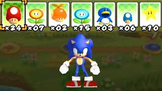 What happens when Sonic uses Mario