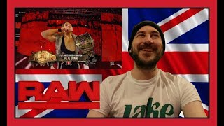 REACTION: PETE DUNNE CHALLENGES ENZO!!! (WWE Raw Manchester 11/06/17)
