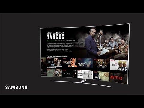 Netflix en Ultra HD sur Smart TV Samsung: regardez la télévision autrement.