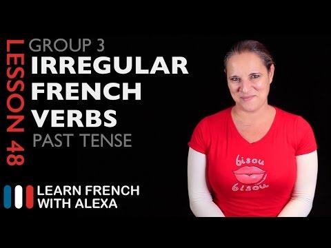 Group 3 Irregular French Verbs (Passé Composé - Past Tense)
