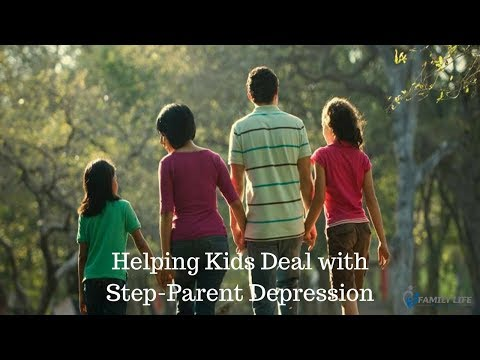 Helping Kids Deal with Step Parent Depression