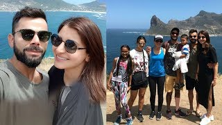 Virat Anushka Roaming With Indian Cricketers & Their Wives In South Africa
