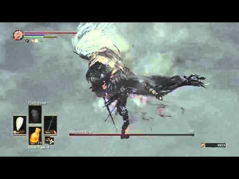 Dark Souls 3 SL1 (Fire Longsword+2) Nameless King Kill