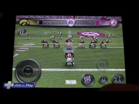 NCAA Football iPhone Game Video Preview