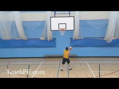 Basketball Drill - Shooting - The Hook Shot