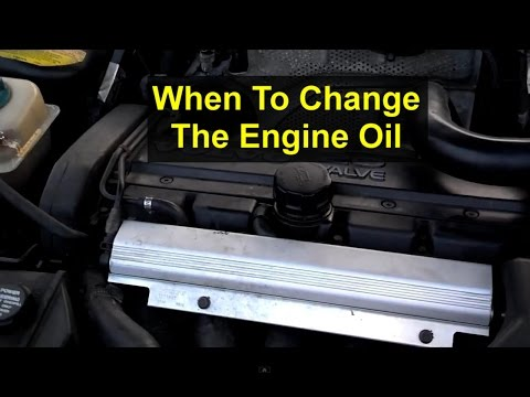 How often should you change the oil in your car or truck - VOTW
