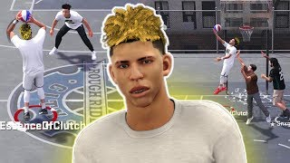 LAMELO BALL DEEP THREES AND ANKLE BREAKERS! NBA 2K18