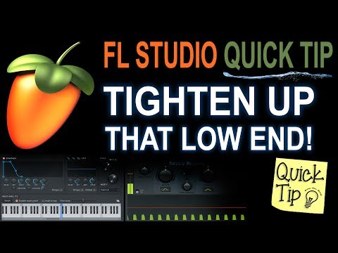 Tighten up that low end!  (FL Studio Kick & bass tip for beginners)