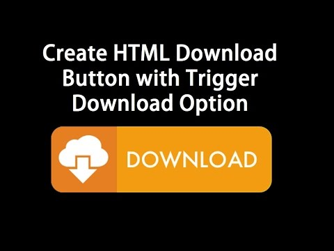 How to trigger a file download when clicking an html button
