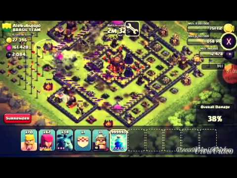 Clash of clans unlimited lightning spells