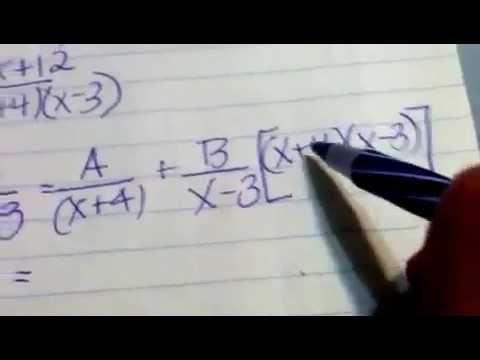 Fraction decomposition of higher degree numerator