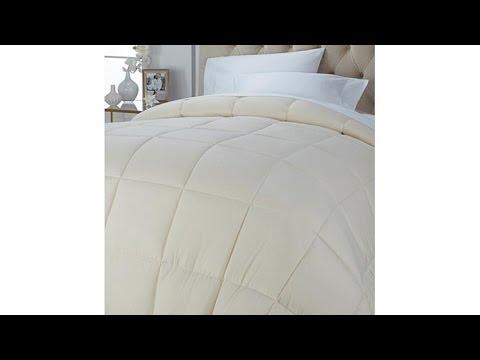 Concierge Collection Solid Down Alternative Comforter