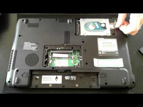 Toshiba Satellite Pro C650 Tear Down & Opening