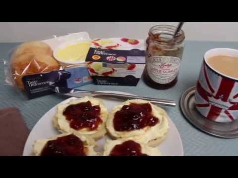Game of Scones - The King of Cream Teas - 'How To' video in a Over Dramatised Style